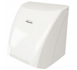 Sèche-mains 2100 W automatique, ABS blanc